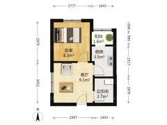 (胶南)海天小区2室1厅1卫67m²中档装修