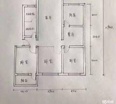 (胶南)滨河小区3室2厅1卫97m²简单装修