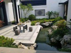 江南风情,桃花源,中式四合院山水入园尽享生活品质送庭院露台